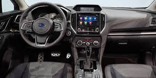 new subaru 2018. interesting 2018 inside the new crosstrek gets more refinement with improved materials  comfortable seats a 80inch touchscreen display for infotainment  throughout subaru 2018 p