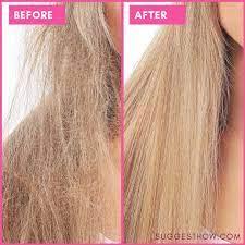 how to repair bleached damaged hair 5