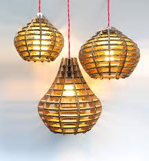 some unique diy creative cardboard lamp ideas