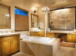 Bathrooms  Modern Bathroom Designs With Magnificent Chandelier - Modern bathroom chandeliers
