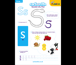 This is the first of two pages for the jolly phonics group 1. Resources Jolly Phonics At Home