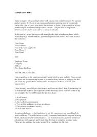 Part Time Cover Letters Cover Letter For Part Time Teacher Employment