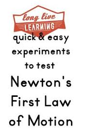newton science definition. quick \u0026 easy experiments to test newton\u0027s first law of motion- science notebook questions newton definition t