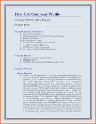 Best Company Profile Format Ideas Of 24 Best Pany Profile Template For Best Company Profile 2