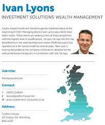 Compare yourself to your peers: Investment Solutions Wealth Management -  Citywire