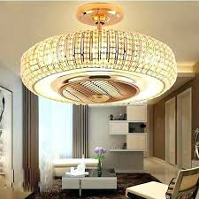chandelier ceiling fan fans at with remote control combination crystal combo chandeli