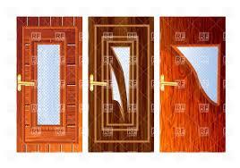 inside front door clipart. Set Of Wooden Doors Royalty Free Vector Clip Art Inside Front Door Clipart