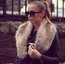 coat fur black jacket faux fur brown cream fluffy fur collar collar leather black leather jacket