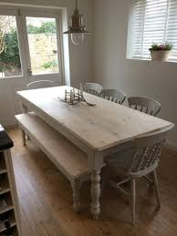 bespoke farmhouse tables made from reclaimed pine in warwickshire country life furniture quality interiors