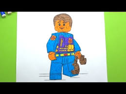 Small Picture Coloring Pages Lego City Undercover Learn Colors For Kids YouTube