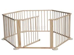 baby child children wooden foldable playpen play pen room divider