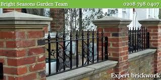 new garden wall builders repairs