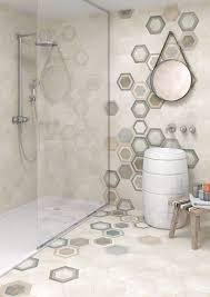 hexagon tiles rift blanco