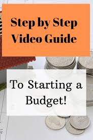 Simple Budget Plan Simple Budget Plan 5 Steps To Starting A Budget Step 2 To