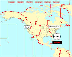 Time Zones In The United States