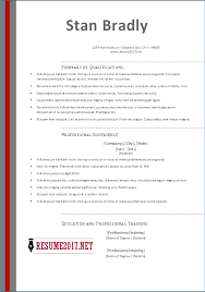 Resume Template 2017 Enchanting New Resume Templates 40 Tehly Templates