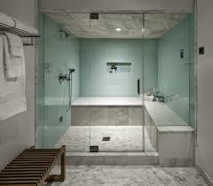 ... Enchanting Enclosed Showers Corner Shower Kits White Towel Glass Seat  Flower: enclosed showers ...