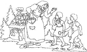 Sprookjes Kleurplaten Hans En Grietje