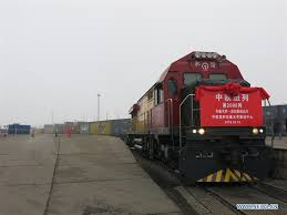 china europe freight trains make 14 000