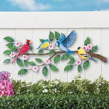 West elm offers modern furniture and home decor featuring inspiring designs and colors. Songbirds On Tree Metal Outdoor Wall Decor Walmart Com Walmart Com