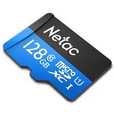 Thẻ nhớ Netac 128Gb Class 10 chuyên camera - Hàng chính hãng - Thẻ nhớ và  bộ nhớ mở rộng Thương hiệu No Brand