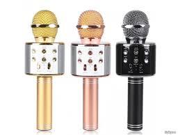 Nhận Order Mic kèm Loa Bluetooth WS-858 đa năng 6 trong 1 hát Karaoke -  TP.Hồ Chí Minh - Five.vn