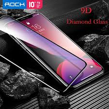 ROCK 9D 0.3MM <b>Diamond Tempered</b> Glass 2019 iPhone 11 ...