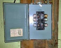 a circuit breaker electrical fuse box vs circuit breaker knob tube wiring fuse panel