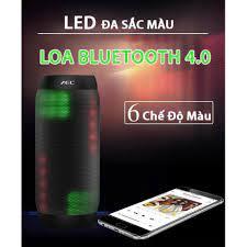 ✔️ Loa nghe nhạc cầm tay, Loa Bluetooth, Loa thông minh bluetooth AEC 615  thiết kế thời trang, có đèn led bắt mắt n - Loa Bluetooth