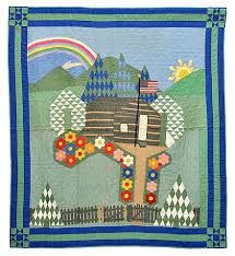 Quilt - Wikiwand & Pictorial Quilt with American Flag, unknown maker, Ohio, cottons, c. 1930 Adamdwight.com