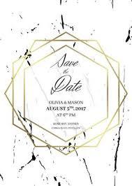 Formal Invite Save The Date Design Template Formal Invite To Follow White
