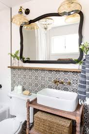 wood bathroom mirror digihome weathered: bathroom cottage house flip reveal jenna sue design blog i wanted a balance of