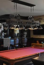 pool room lighting. Lots Of Detail In This Amazing Pool Table Light Made Out Steel Funnels, Water Room Lighting I