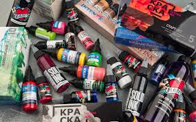 как выбрать тату краску Tattoo Mall