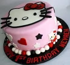 Images Of Easy Hello Kitty Cake Ideas Industriousinfo