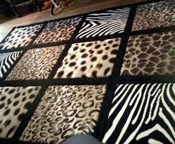 zebra area rug. Leopard Rug 8x10 Print Area Zebra