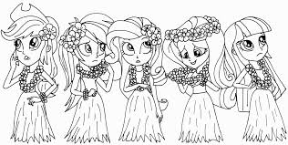 Mainstream Coloring Pages Of My Little Pony Equestria Girls Simply
