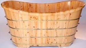 goedeker s alfi ab1105 wooden bathtub