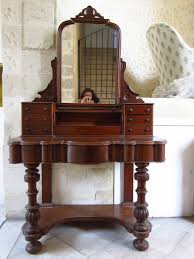 mirror design ideas superb small antique mirrored dressing table