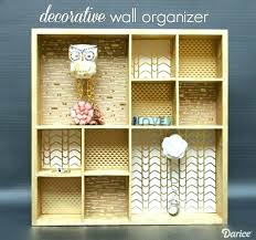 wall organizer these adorable decorative knobs perfect mounted mail organ decorative wall file organizer