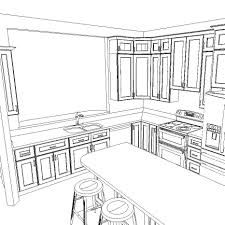 Different Kitchen Layout And Design Kitchen Layouts Cabinetselect Com