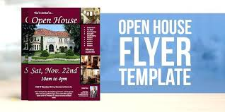 Free House Flyer Template Free Open House Flyer Templates Athoise Com
