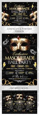 best images about flyers template saturday night masquerade ball flyer landscape portrait version
