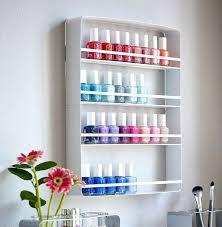 nail polish wall rack diy wooden nail polish wall rack nail polish