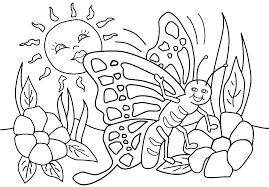 Kids Spring Coloring Pages Spring Coloring Pictures Free Spring