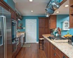 Even if you opt for a modular kitchen you can choose from a variety of kitchen design ideas. Kitchen Design Ideas Pictures Remodels And Decor Teal Kitchen Walls Blue Kitchen Decor Kitchen Wall Colors
