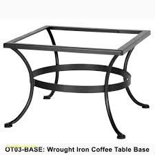 cast iron table bases lovely ow lee standard wrought iron bar height bistro table base