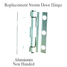remove storm door removing a lock replacement glass replacing screen