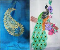 wonderful saree painting