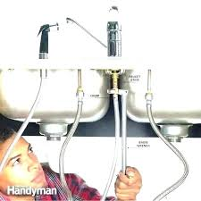 delta kitchen faucet sprayer repair replacing kitchen faucet